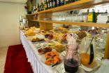 Café da manhã no Hotel Di Fratelli